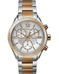 Timex Miami Chronograph 38mm Bracelet |Rose Gold-Tone| Watch TW2P93800 - Mettallic