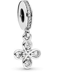 PANDORA Silver Bead Charm 797969cz - Metallic