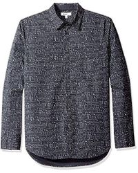 William Rast - Gage Printed Button Down Shirt - Lyst