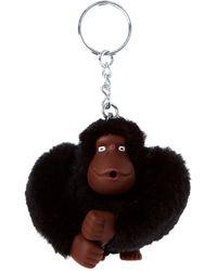 Kipling Monkeyclip M- Portachiavi ad anello e catena Adulto - Nero