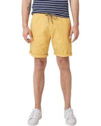 S.oliver RED Label Plek Loose: Leichte Bermuda Yellow Friend 34 - Gelb