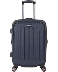 "Kenneth Cole Reaction Renegade 20"" Abs Expandable 8-wheel Carry-on - Blue"