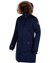 Regatta Saphie Jacket Blue Size 8   34 2017 Winter Jacket