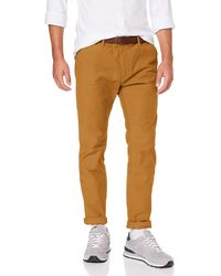 Scotch /& Soda Stuart-Classic Chino in Brushed Yarn-Dyed Quality Pantalon Homme