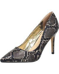Dorothy Perkins Wide Fit Faux Snake Design Court Shoes Closed Toe Sandals - Multicolour