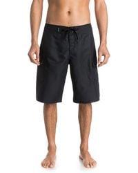 Quiksilver Mens Manic 22 Inch Boardshort Board Shorts - Black