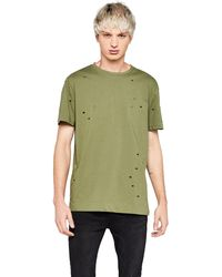 FIND T-Shirt Distressed - Verde