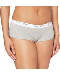 Calvin Klein Shorty Slip Donna - Grigio
