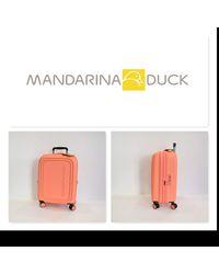 Mandarina Duck Logoduck + Valigia trolley - Arancione