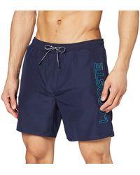 Lacoste Mh6277 Pantaloncini - Blu