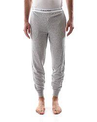 Calvin Klein Jogger Pantalon De Sport - Gris