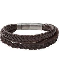 Fossil Bracelet Jf85296040 - Brown