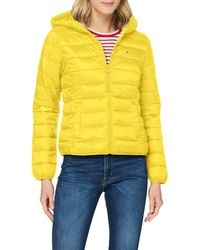 Tommy Hilfiger Tjw Hooded Quilted Zip Thru Giacca - Nero