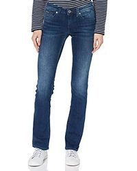Tommy Hilfiger Mid Rise Sandy Straight Jeans - Blue