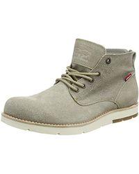 Levi's Jax Light Chukka Desert Boots, grau - Natur