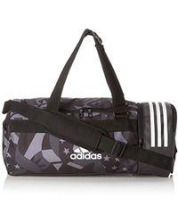 cabca7bcd9494 adidas - CORE 3 Stripes CVRT Graphic Sporttasche mit Rucksackfunktion S 48  cm - Lyst