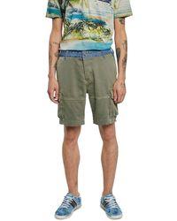 Desigual Pant_teclo Shorts - Green