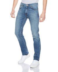 Wrangler Greensboro Water Resistant Jeans - Blue