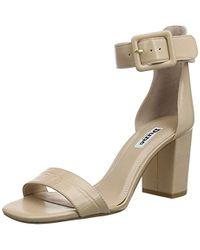 db7657579 Sam Edelman  azela  Pompom Tassel Mirror Sandals in White - Lyst