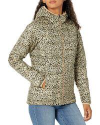 Amazon Essentials Veste à Capuche légère et imperméable Down-Alternative-Outerwear-Coats - Multicolore