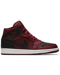 d461c122de664 Air Jordan 1 Mid, Trainers - Red