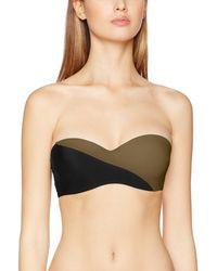 Calvin Klein - Structured Bandeau Parte de Arriba de Bikini - Lyst