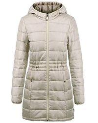 Vero Moda Palina Parka Outdoor Jacket Winter Coat - Natural