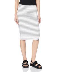 Superdry Summer Pencil Skirt Jupe - Gris