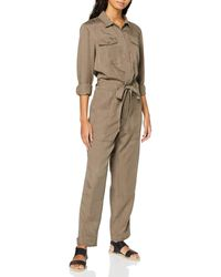 Superdry Desert Military Jumpsuit - Brown