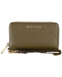 Michael Kors Jet Set Travel Large Multifunction Phonecase Wallet/Wristlet - Duffle - Verde