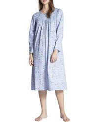 CALIDA Soft Cotton Camicia da Notte - Blu
