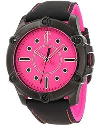 "Juicy Couture - 1900934""surfside"" Black Leather Strap Casual Watch - Lyst"