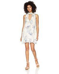 O'neill Sportswear Coleen Key Hole Dress - White