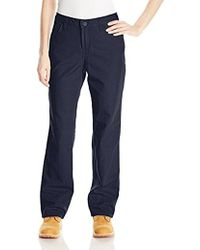 Carhartt Flame Resistant Loose Fit Midweight Canvas Jean - Blue