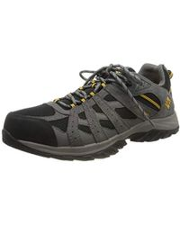 Columbia Canyon Point Waterproof Hiking Shoes - Black