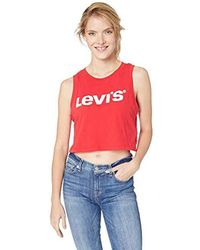 Levi's Graphic Logo Bodysuit - Red