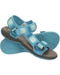 Mountain Warehouse Chaussures d'été de Phylon - Bleu