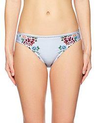 Lucky Brand - Junior's Zen Garden Hipster Bikini Bottom - Lyst