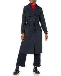 The Drop Noa Trench Coat - Black