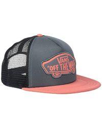 ab8aee309ae Vans - Beach Trucker Hat Baseball Cap - Lyst
