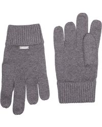 Calvin Klein Basic Knitted Gloves Gants - Gris