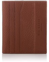 Ted Baker - Leather Bifold Wallet - Lyst
