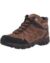 Merrell Pulsate 2 Mid LTR Waterproof Hiking Shoe Dark Earth 13.0 W US - Marrone