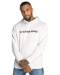 G-Star Raw Mens Loaq Hooded Sw L//S