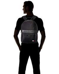 Tommy Hilfiger Sport Mix Backpack Solid Geldbörse, 1x1x1 cm - Schwarz
