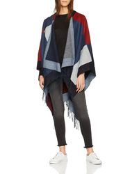 Great Plains Cosy Womens Wrap - Blue
