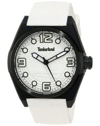 Timberland Unisex 13328jpgys_04 Radler Analog 3 Hands Date Watch - White