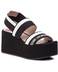 023d5d08144a0 Wedges Black/white High Heel