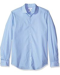 Calvin Klein Button Down Shirt - Blue