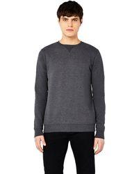 Meraki - Amazon Brand - Men's Sweatshirt, Grey (charcoal Melange), S, Label:s - Lyst
